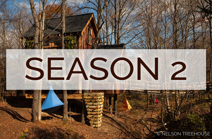 Treehouse Masters Season 2, Episode 2: Temple of Adventure