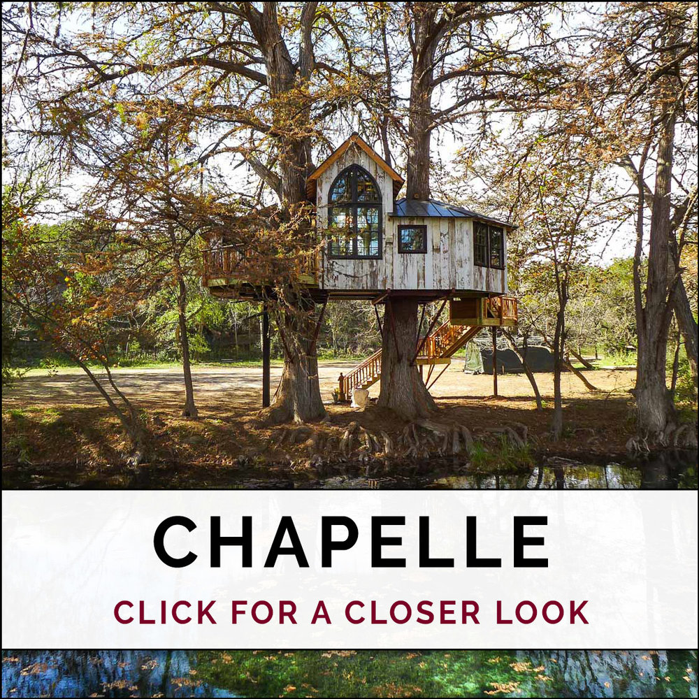 Chapelle at Treehouse Utopia