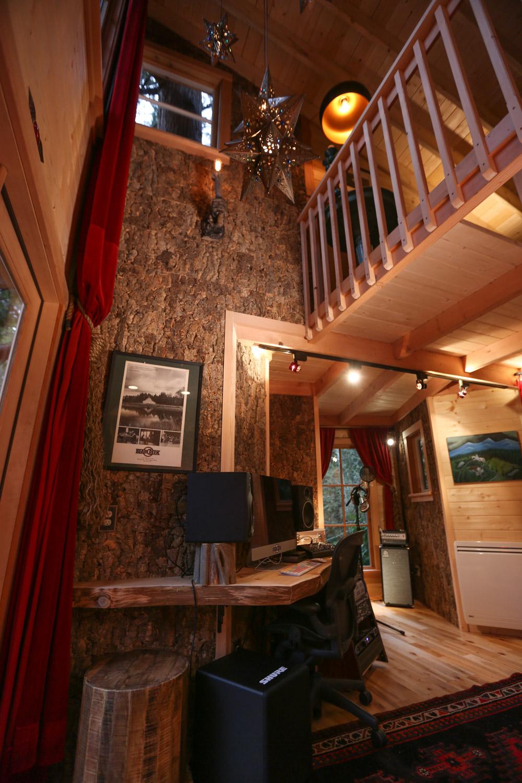 Nelson treehouse recording studio creative space