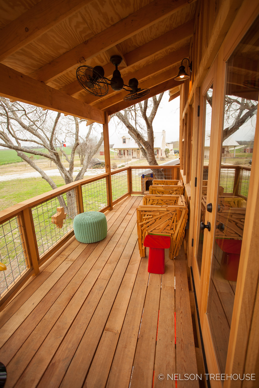 Nelson Treehouse - Twenty-Ton Texas Treehouse deck