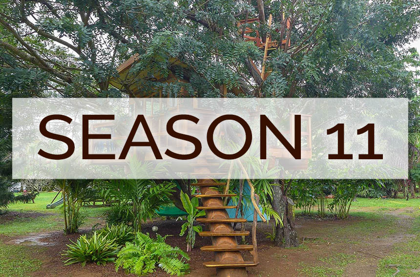 Pete Nelson's Photo tours from Treehouse Masters Season 11