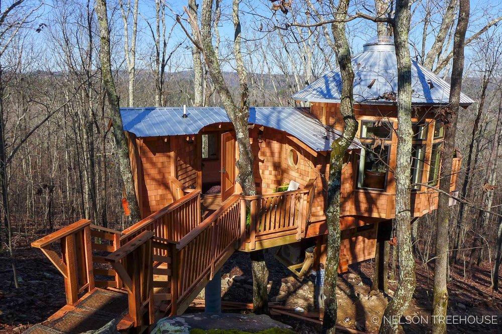 Super Spy Treehouse - Nelson Treehouse 2018 - Bridge