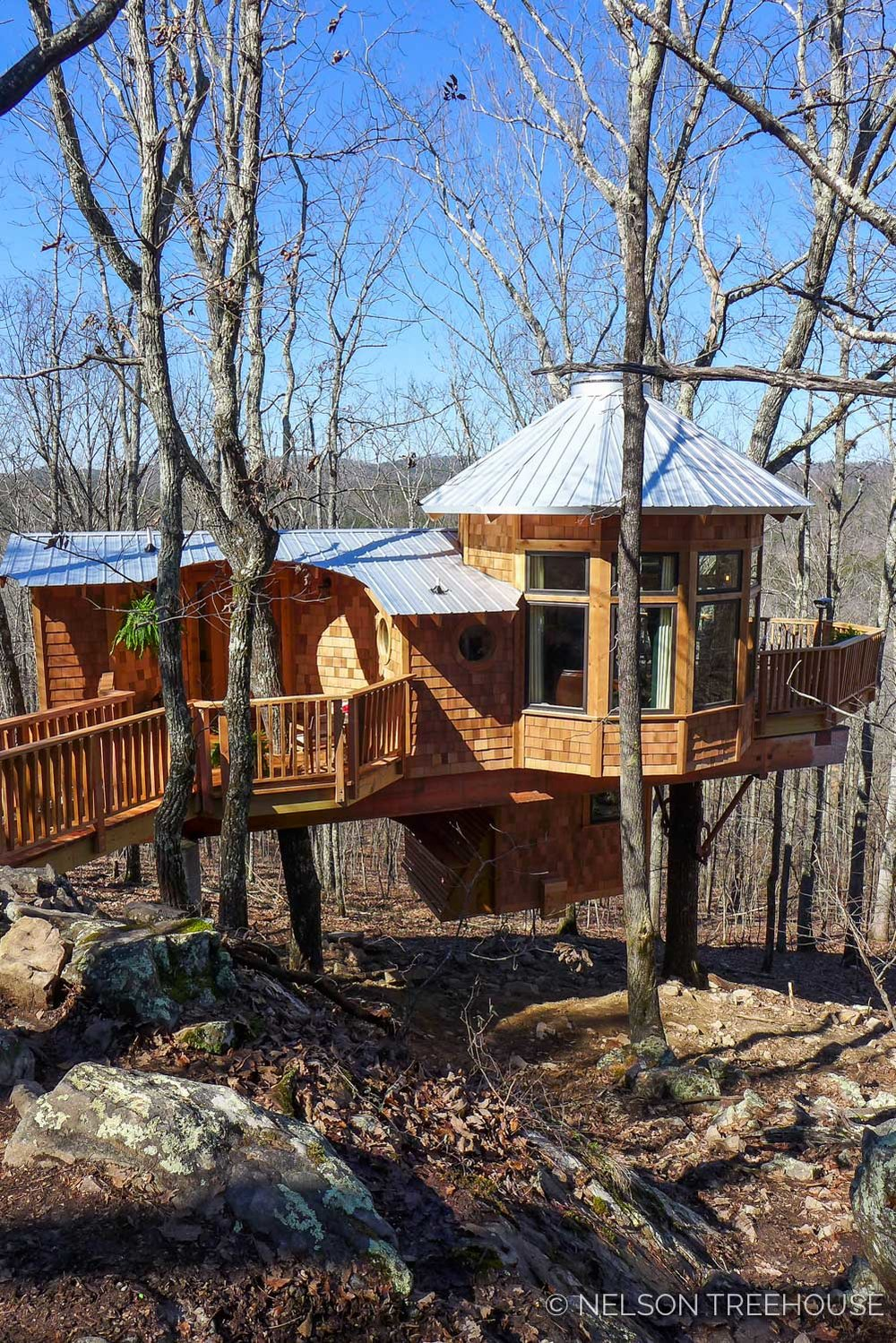 Super Spy Treehouse - Nelson Treehouse 2018