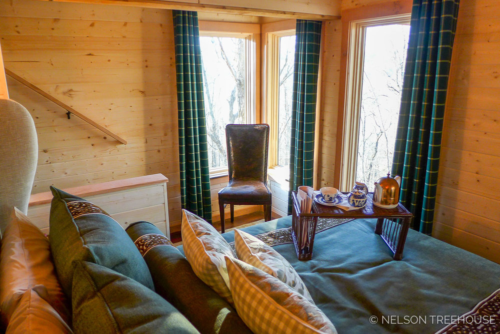 Super Spy Treehouse - Nelson Treehouse 2018 - Bedroom view