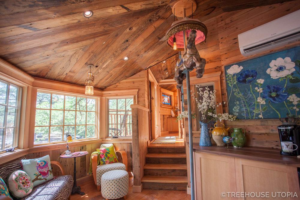 Carousel at  Treehouse Utopia