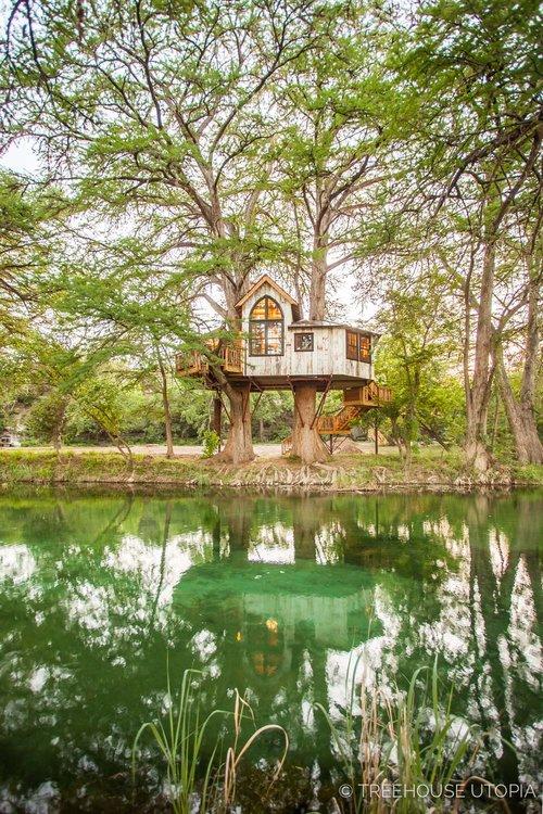 treehouse utopia photo tour chapelle - Treehouse Masters Prices