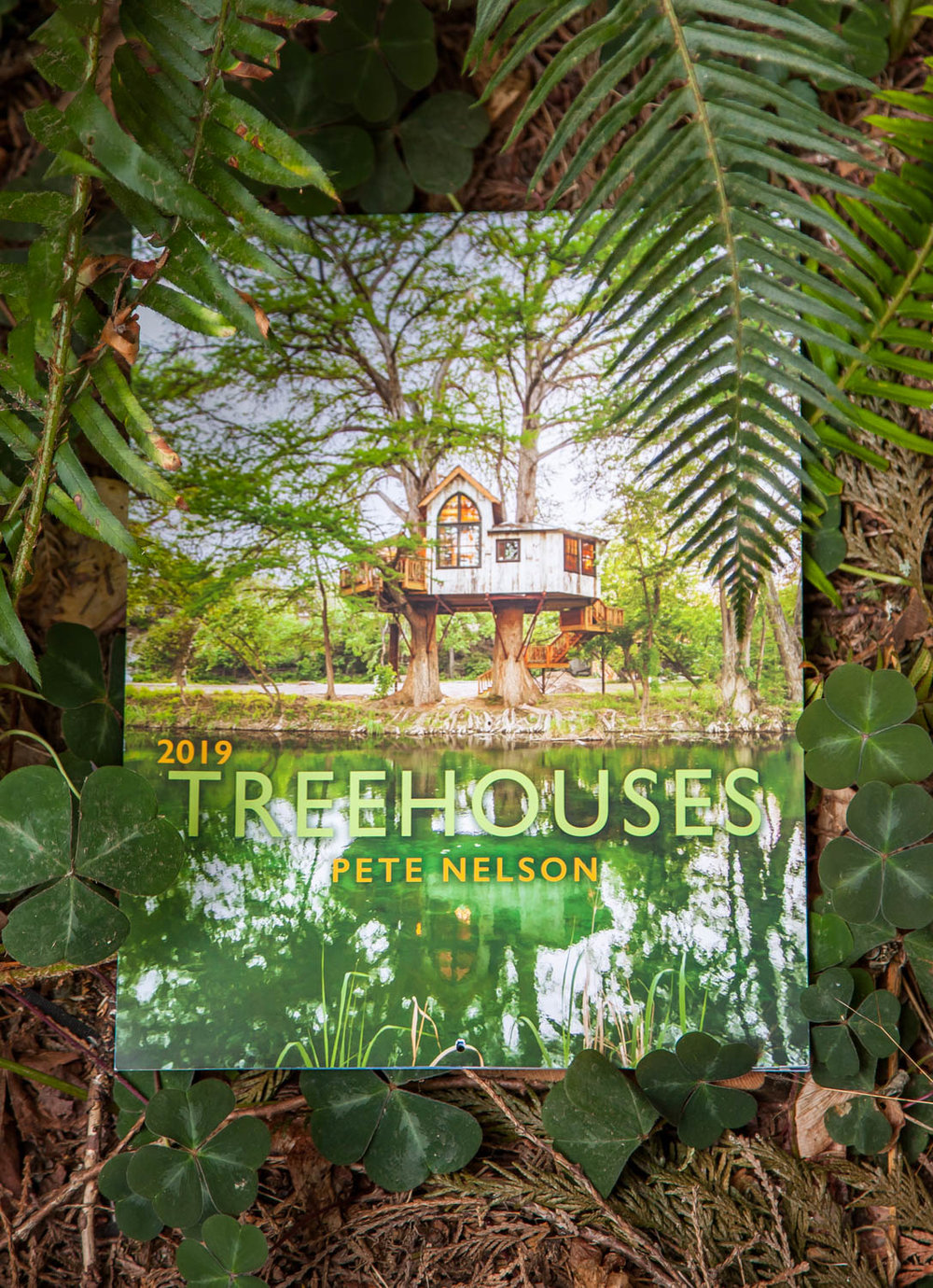 New to the store:   Pete Nelson's 2019 Treehouse Calendar