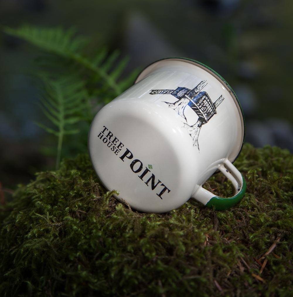 Also NEW: The     Nest treehouse enamel mug