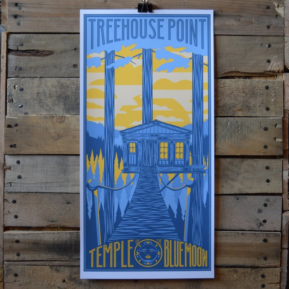 Treehouse Point posters