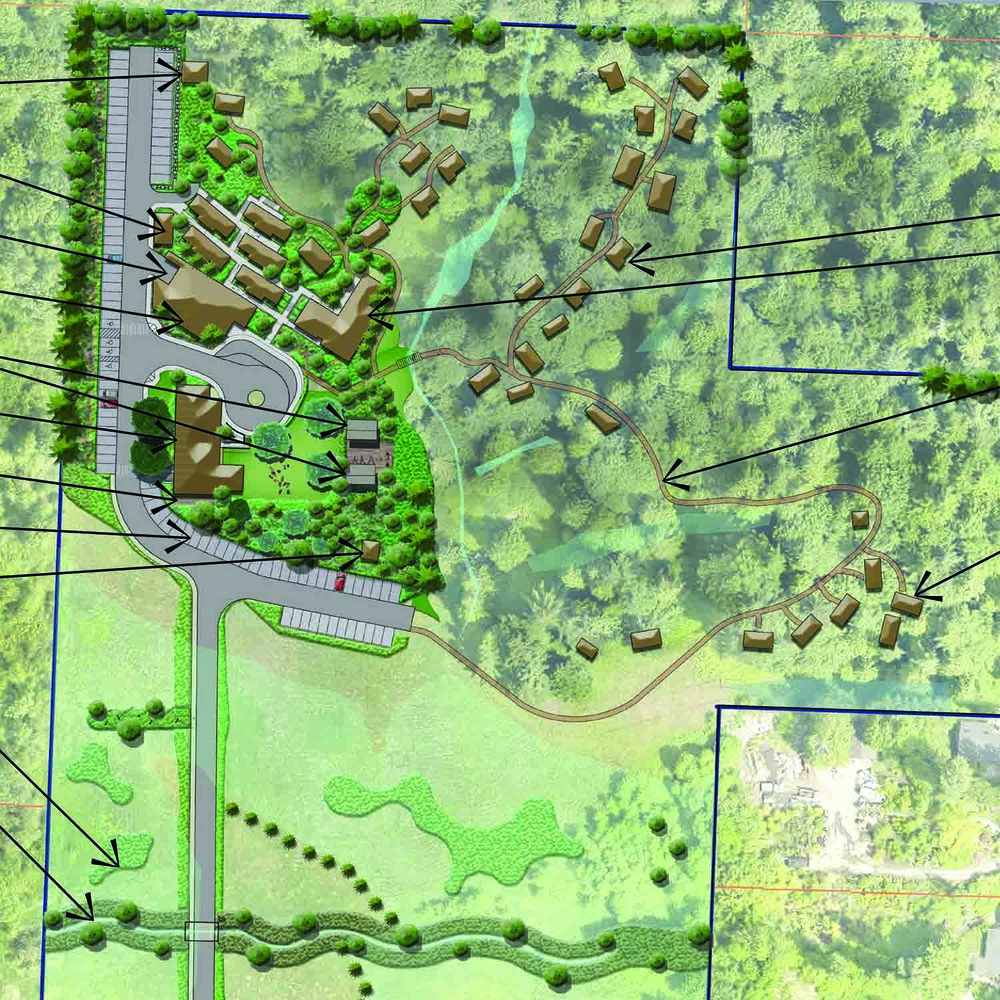 Treehouse Resort and Spa  Conceptual Site Plan 2018