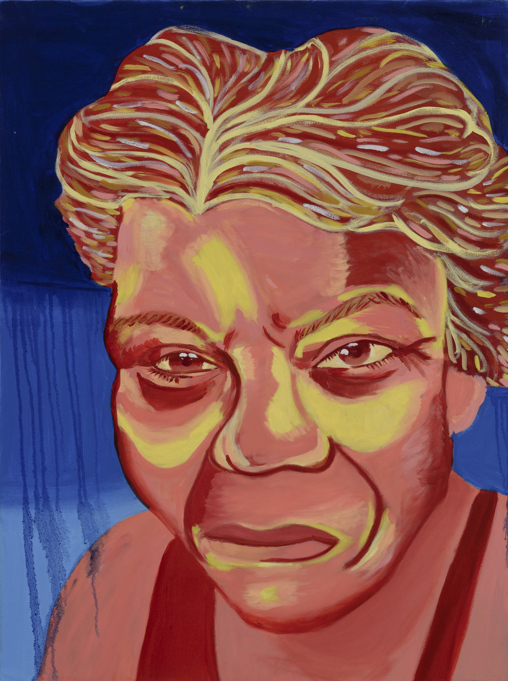 "Elizabeth Amazon Painted by Denise  Oil on Canvas, 30""x40"" $800"