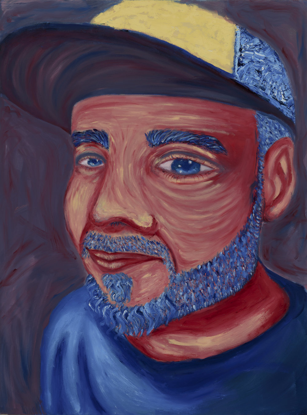"Patrick Norville Painted by Gissel Oil on Canvas, 30""x40"" $800"