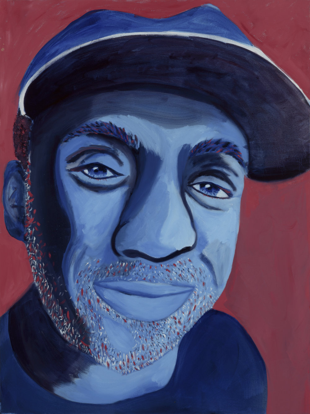 "Ritchie Burnell Painted by Vanessa Oil on Canvas, 30""x40"" $800"