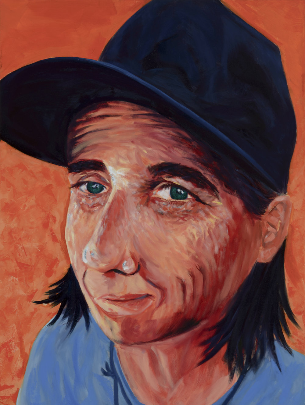 "CJ Stern Painted by Jonas Oil on Canvas, 30""x40"" $800"