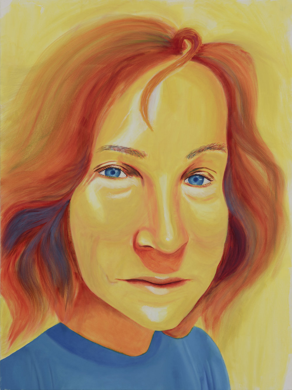 "Diane Painted by Cristal Oil on Canvas, 30""x40"" $800"