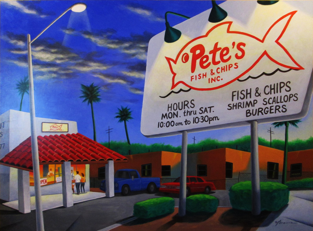 Friday Night at Pete's Fish & Chips