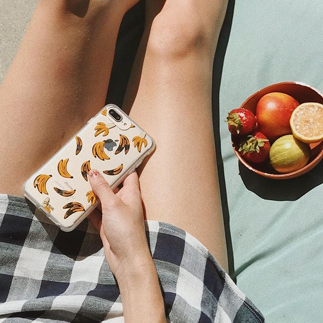 We find this case quite appealing 😉🍌 Shop 'Banana Babe' with link in bio! #sonixcases