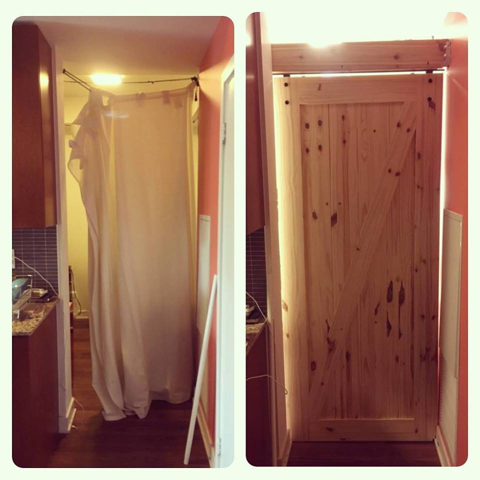 Sliding Barn Door Installation