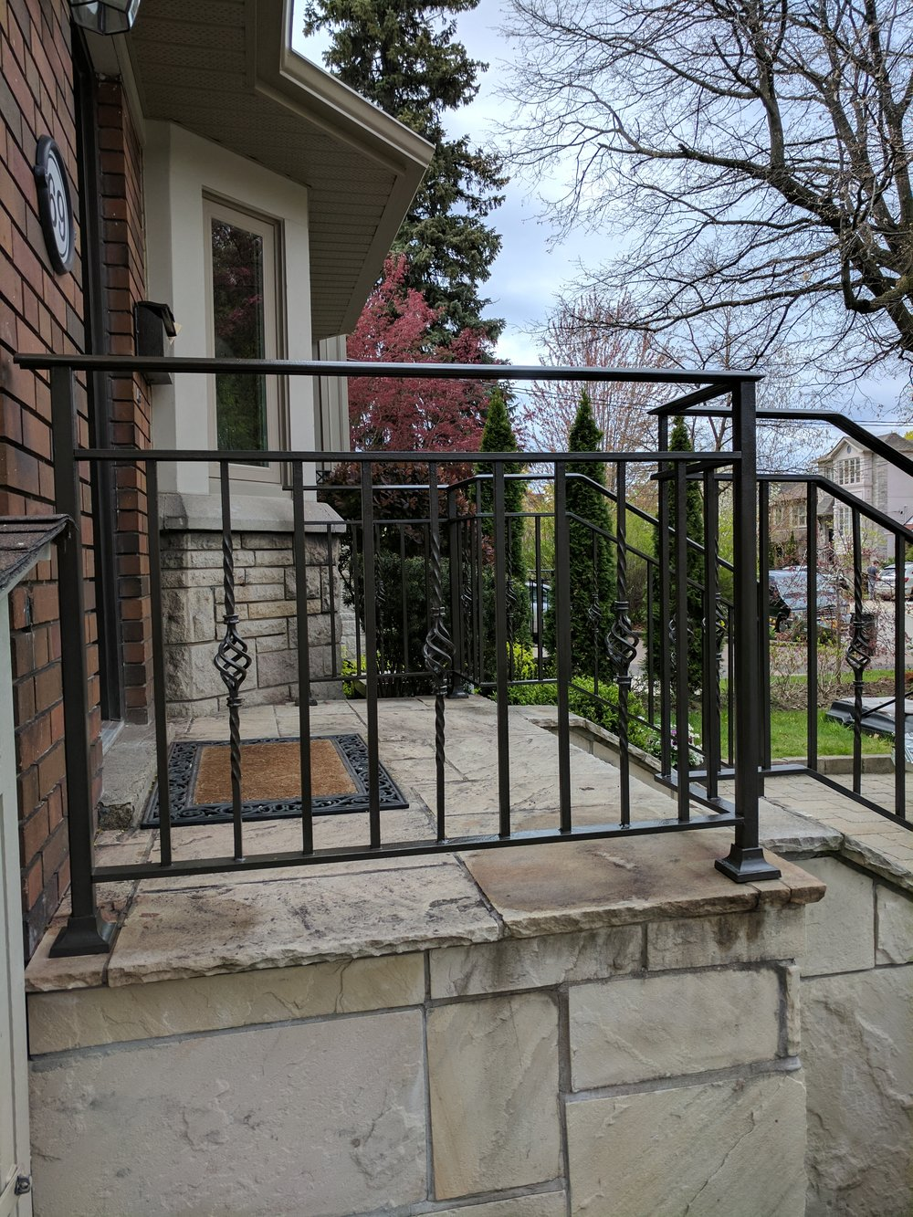 railing repair weld fix it friend handyman toronto