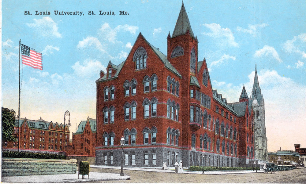 DuBourg Hall circa 1915.