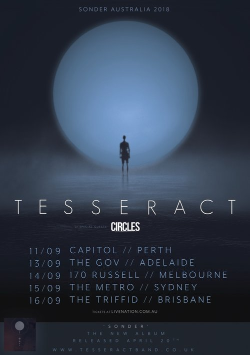 Tesswebpostergformat500w circles supporting tesseract australian tour sep 2018 malvernweather Image collections