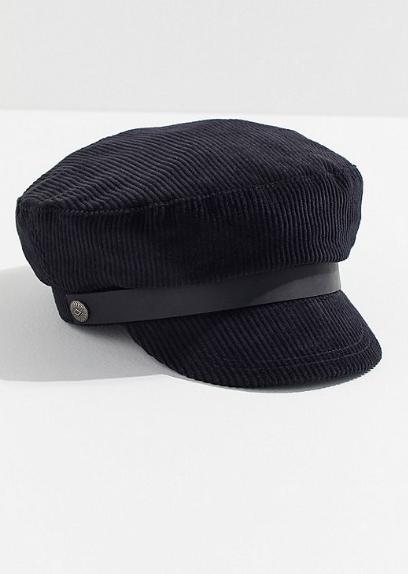 corduroy captain cap