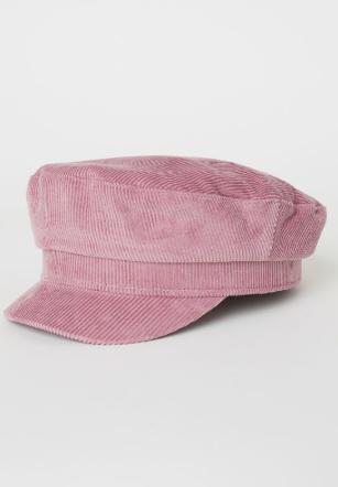 pink trendy hat