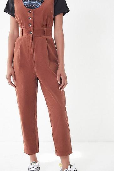 corduroy jumper overalls