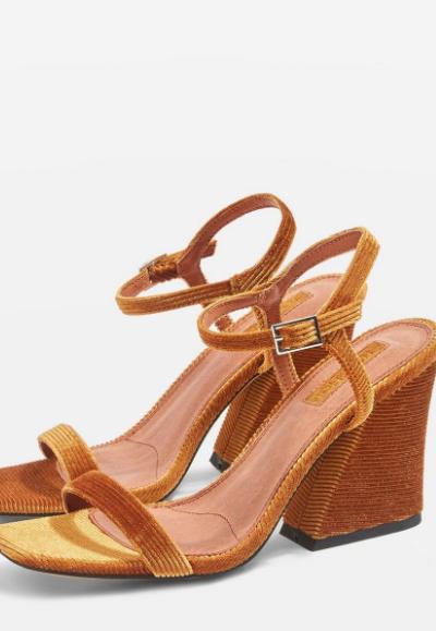 corduroy heels