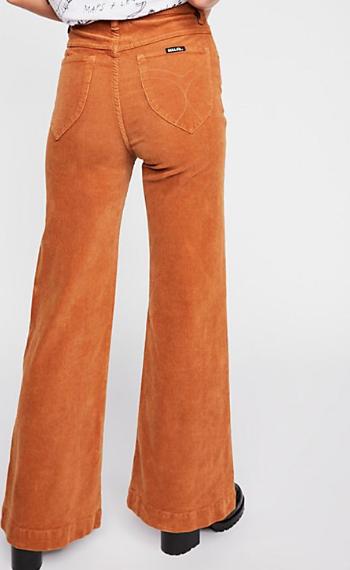 cute corduroy flare pants