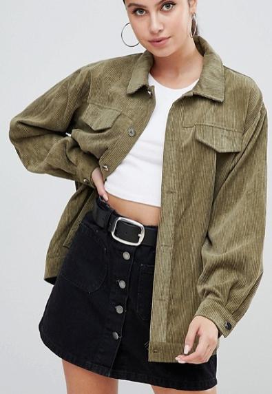 army green corduroy jacket