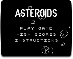 Asteroids  is an arcade space shooter released in November 1979 and   was one of the first major hits of the golden age of arcade games.  Asteroids w  as widely imitated and directly influenced Defender, Gravitar     and many other video games.