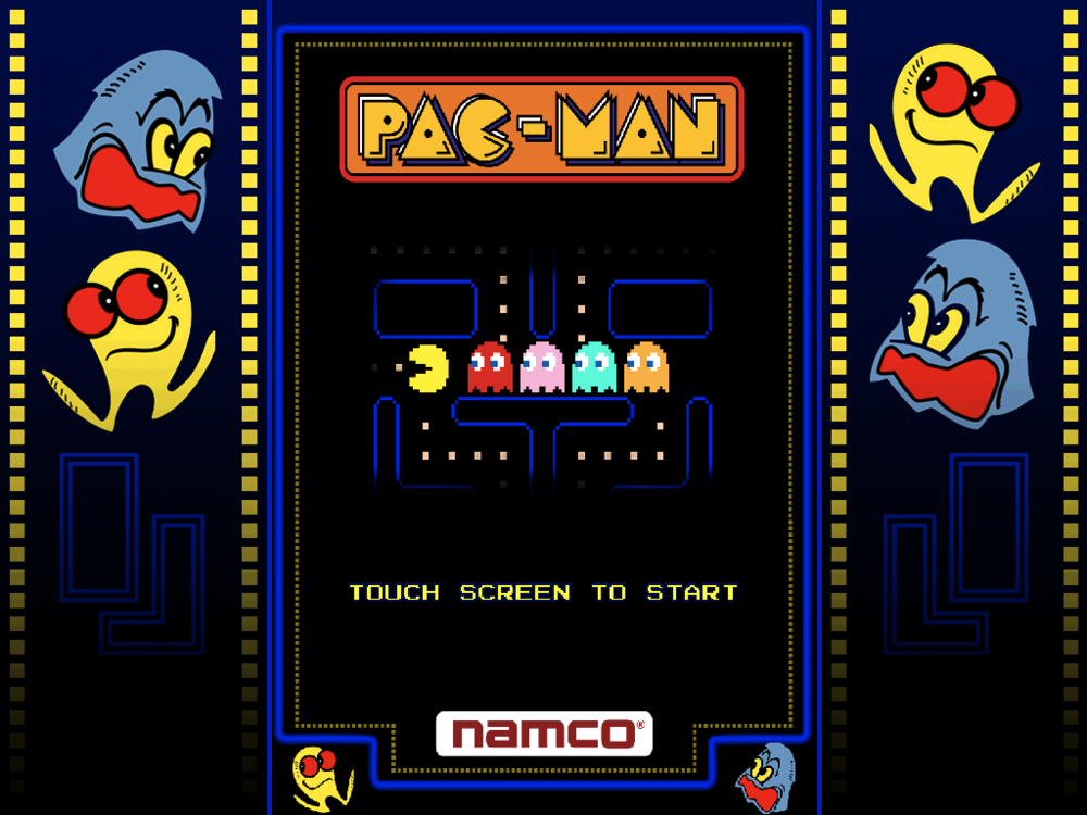 Pac-Man  is an arcade game developed by Namco and first released in Japan in May 1980.  Upon its release, the game became a social phenomenon that yielded high sales of merchandise and inspired a legacy of other media.