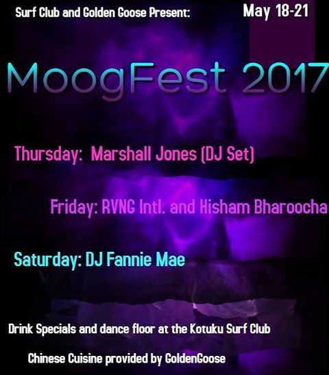 NEXT WEEK! WHO IS EXCITED  TO PARTY WITH US? we are so happy to be part of this awesome event. #moogfest #goldengoosedurham #gooseapproved  #chinesefood  #moogfest2017