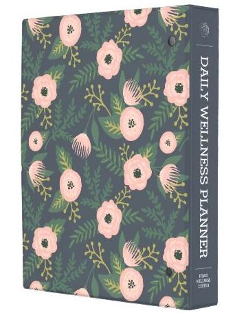 midnight blue floral mini planner back view.JPG