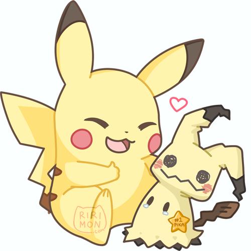Pikachu & Mimikkyu