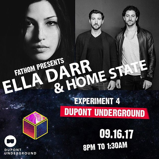 D.C. people!! Home State's Alex & Jordan are joining @elladarr this Saturday night @ Fathom's Experiment 4 for a b2b DJ set supreme! Live guitar. Live vocals. Live party. #venusisvenusisvenus . . @fathom_magazine @dupontunderground #art #music #livemusic #dj #djset #b2b #producer #fathom #fathomdc #dupontunderground #musicians #housemusic #deephouse #techhouse #underground #concert #artgallery #dc #washingtondc