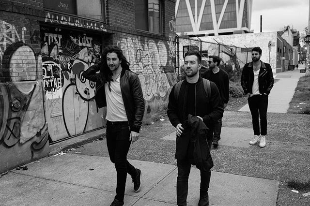 A big week ahead. Pumped about our new music in the works 🎶 (📷 by @linearenigma) . . #newmusic #band #musicians #recordingartist #singer #talent #nycmusic #indiepop #nymusic #williamsburg #brooklyn #bk #indie #indieband #upandcoming #upandcomingartist #blackandwhite #newjam #newmusicalert #production #rockmusic #popmusic #newsound