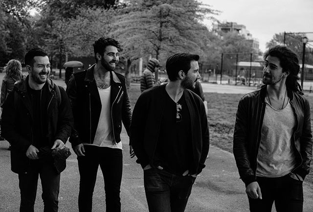 #thankful (📷 by @linearenigma) . . . #thanksgiving #🙏 #music #musicians #band #friends #blackandwhite #brooklyn #williamsburg #newyork #nyc #nycmusic #indie #indieband #rock #rockband #indiemusic #rockmusic
