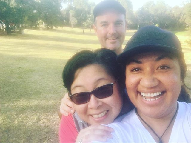We're keeping the legs conditioned with a 21K stroll today and took our Lead Support with us for the adventure #selfie #wearedoingthis #oxfamtrailwalker #melbourne #practisewalk #100kwalktraining #wearetandembuildinggroup