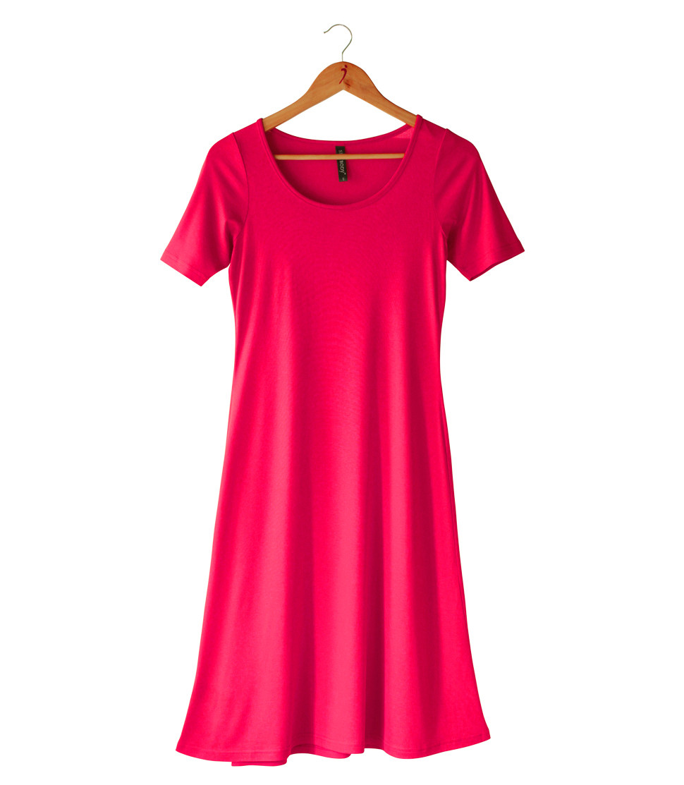 SILKSPUN SHORT SLEEVE DRESS