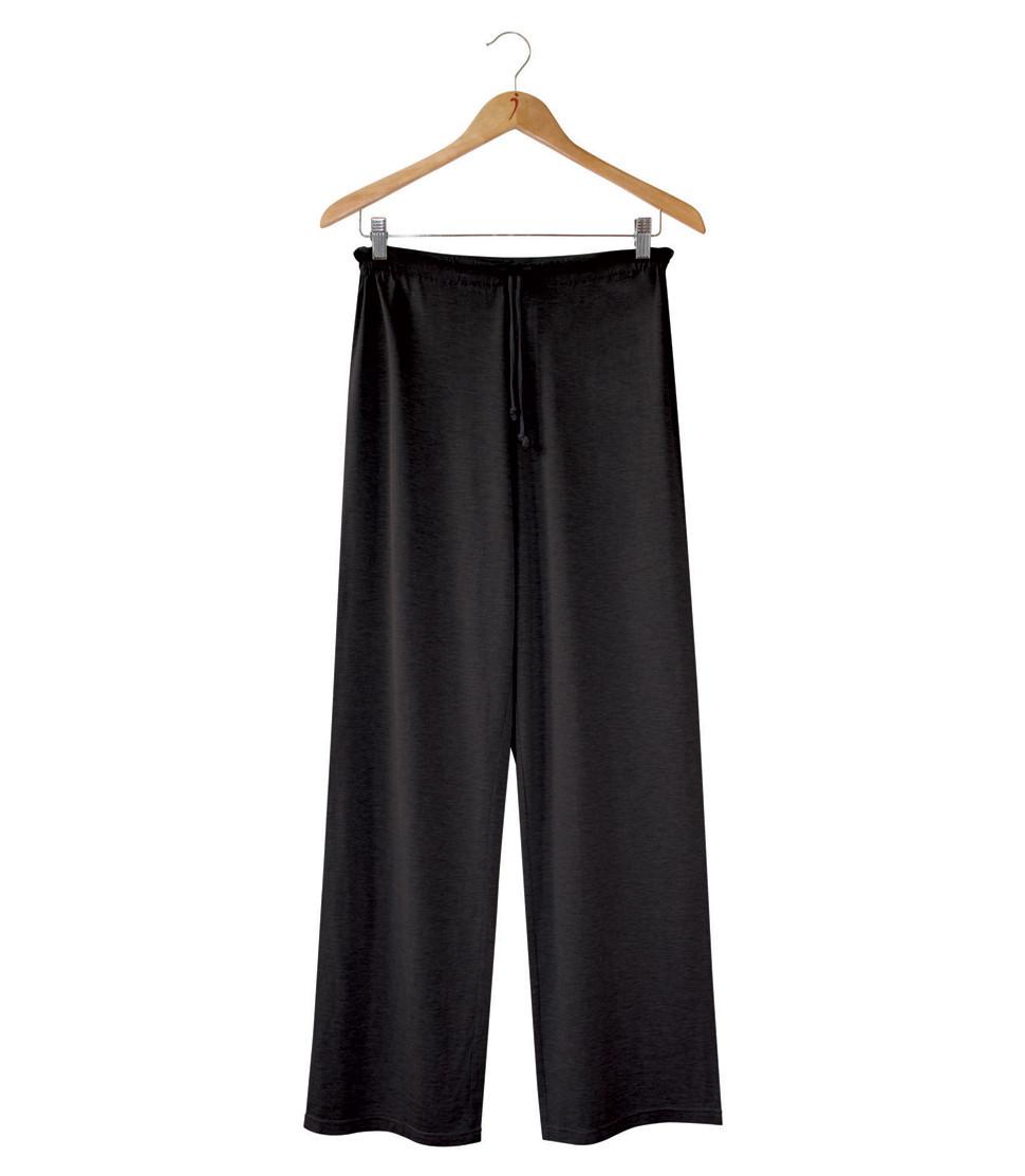 spencer in platic pants