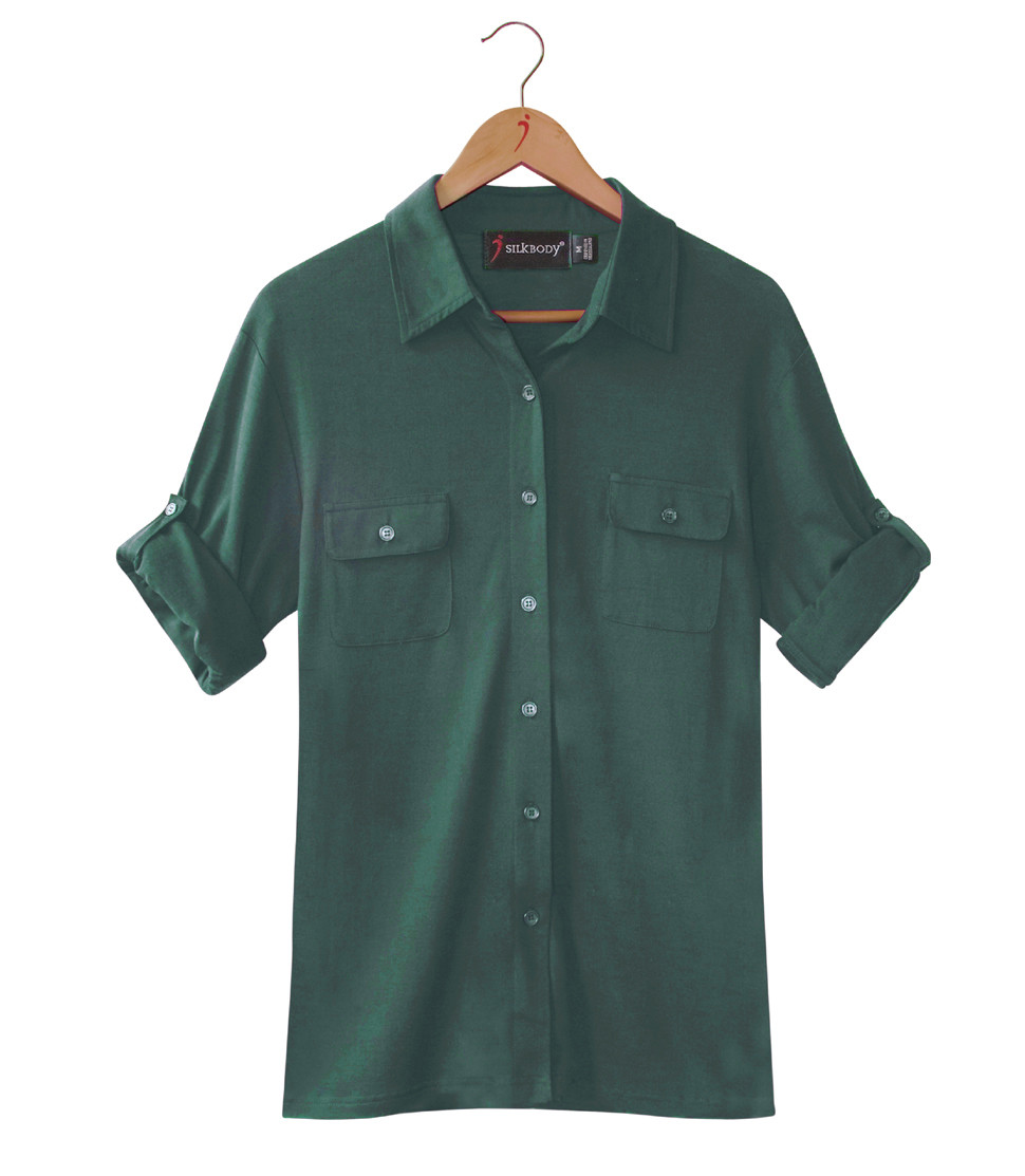 SILKSPUN SAFARI SHIRT