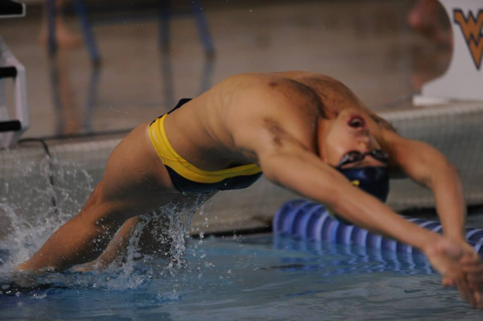 Bryce Bohman, 2x All-American WVU Swimming