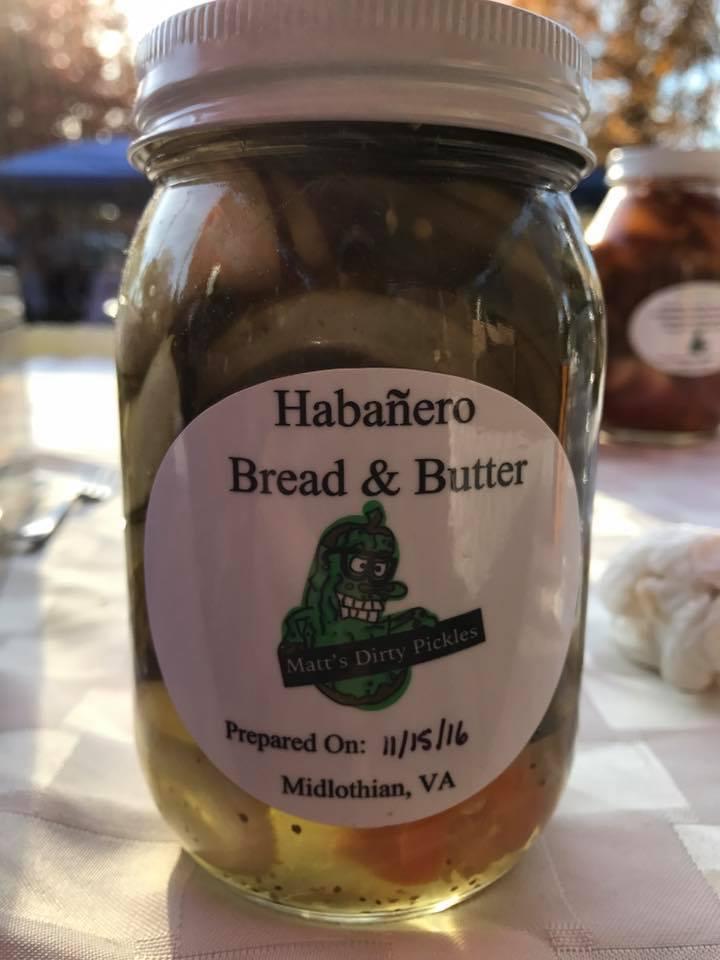 Habañero Bread & Butter