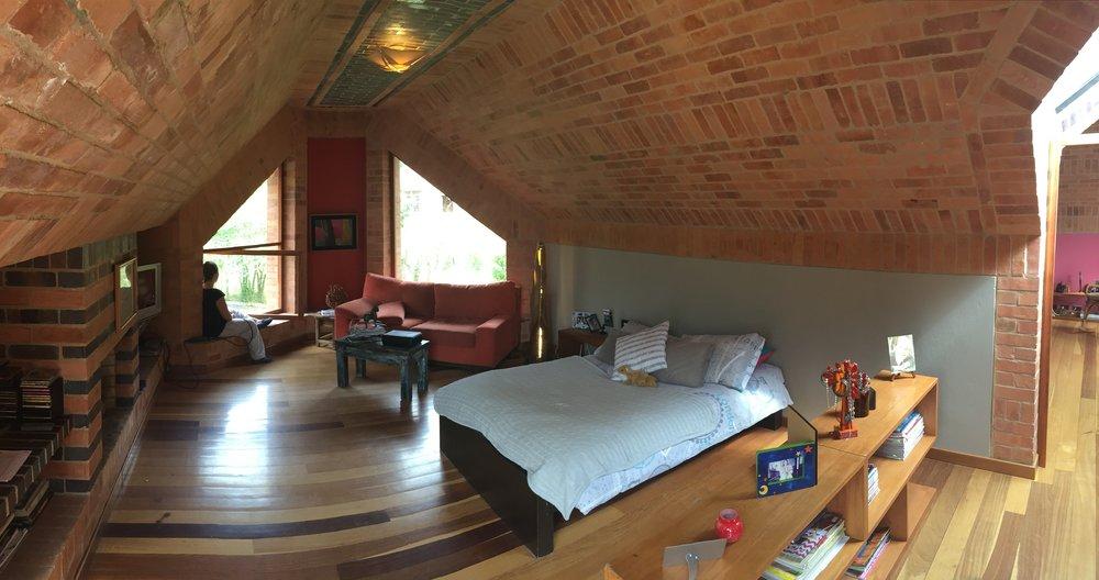 Estudio, Sala de estar. 2do piso