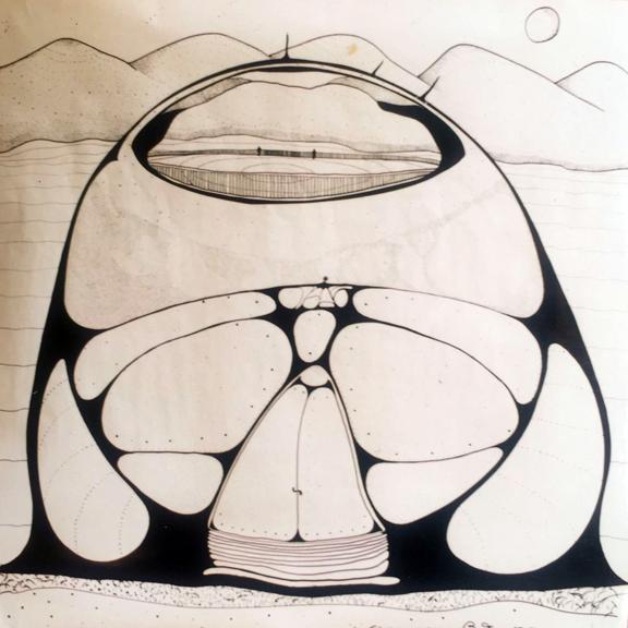 Dibujo hernando baraya casa espacial