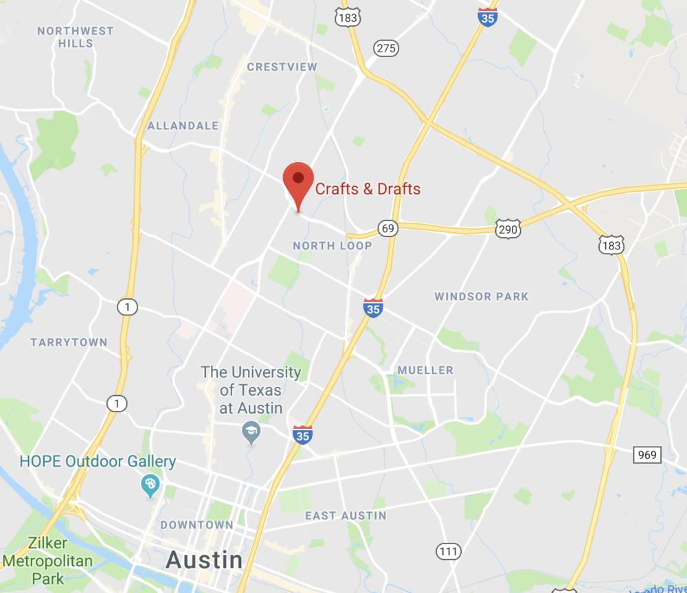 Crafts & Drafts Austin