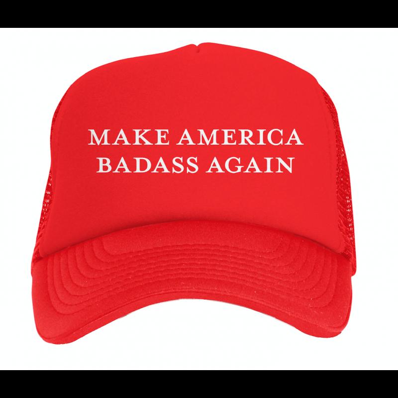 Kid Rock Trump Make American Badass Again Hat