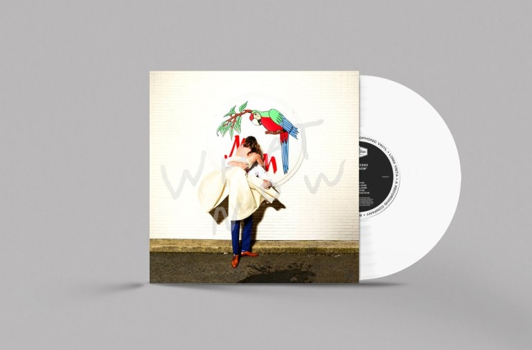 Sylvan Esso,  What Now  limited edition white vinyl. Courtesy Sylvanesso.com